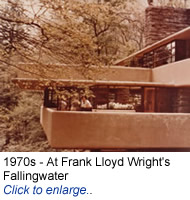 Richard Warshak at Falling Water.