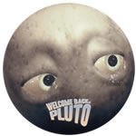 DVD Cover for Werlcome Back, Pluto.